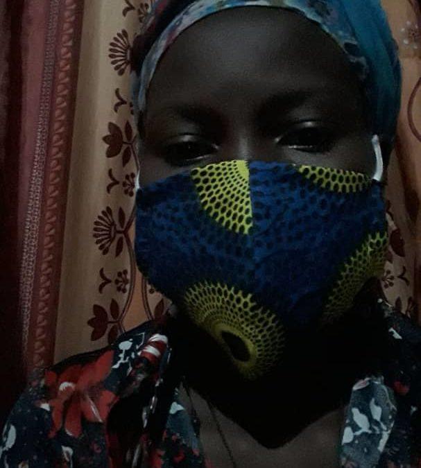 Masken gegen Corona gefertigt im RHU