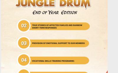 der neue Newsletter von RHU Uganda  zum Jahresende